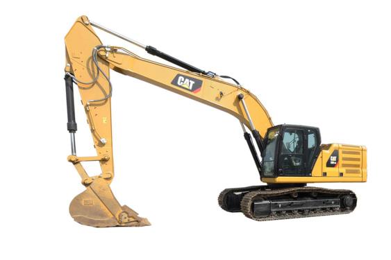 卡特彼勒新一代Cat®330 GC液压挖掘机高清图 - 外观