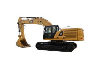 卡特彼勒新一代Cat®345 GC液压挖掘机高清图 - 外观