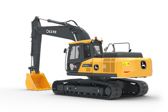 约翰迪尔E210 LC挖掘机高清图 - 外观