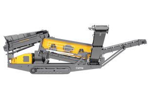斯镘达SD80履带移动重型筛分站