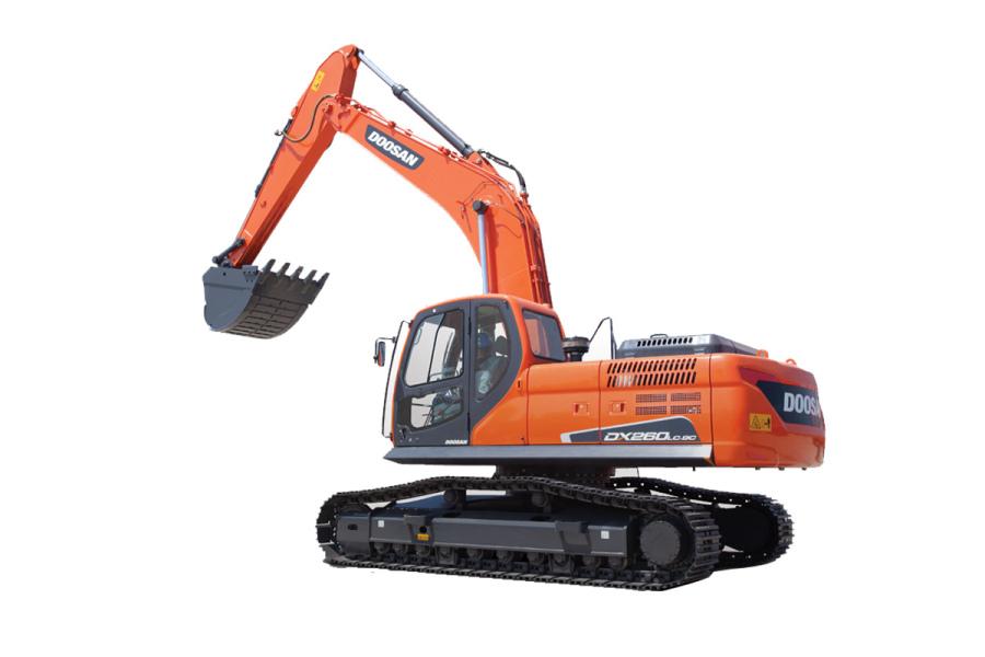 斗山DX260LC-9C挖掘机