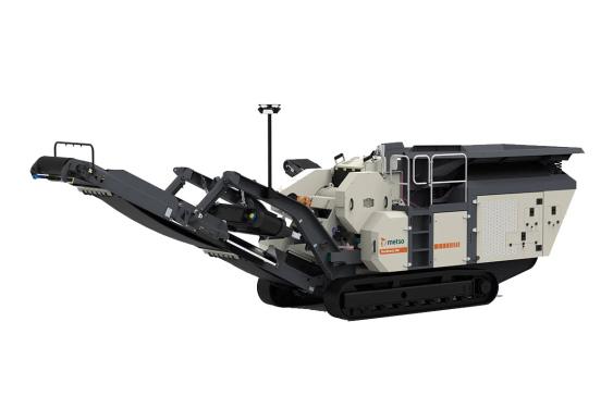 美卓Nordtrack™ J90移动式颚式破碎站
