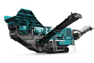 特雷克斯中国Trakpactor 320SR反击式破碎机