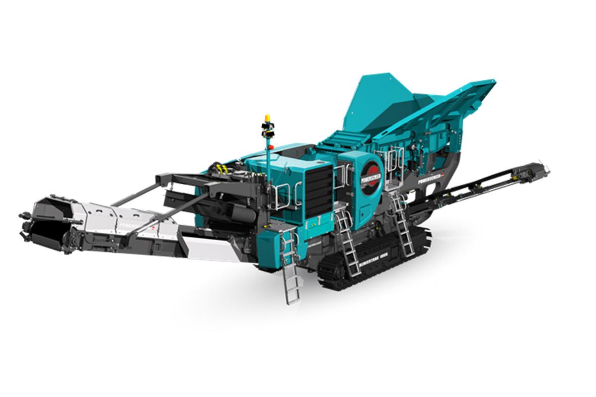 特雷克斯中国400X & R400X破碎机高清图 - 外观