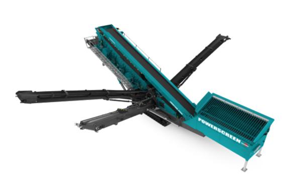 特雷克斯中国霸王(Chieftain)三层 2200振动筛分机