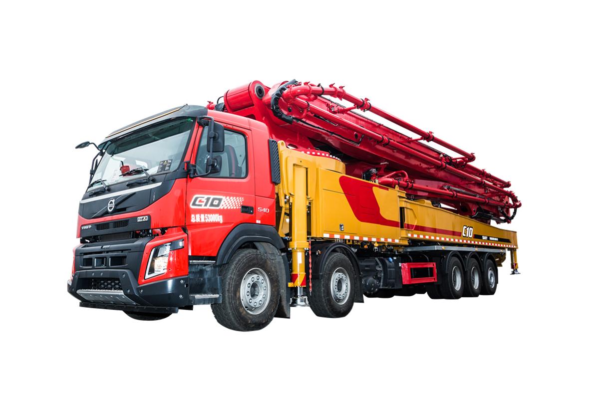 三一重工SYM5538THB 670C-10泵车高清图 - 外观