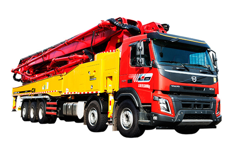 三一重工SYM5533THB 620C-8泵车