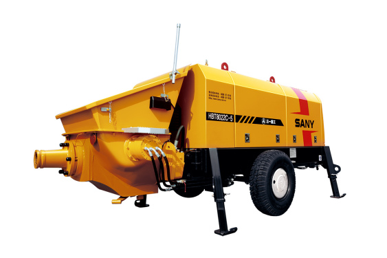 三一重工HBT8022C-5拖泵