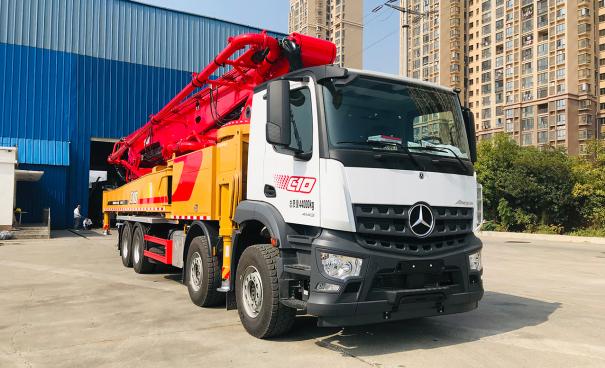 三一重工SYM5442THBEB 620C-10A泵车高清图 - 外观