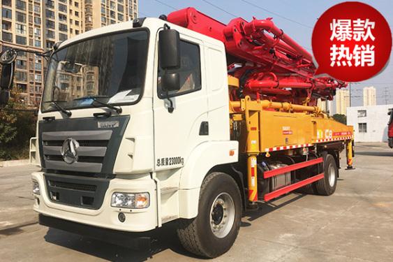 三一重工SYM5230THB 370C-8C8系列37米混凝土泵车高清图 - 外观