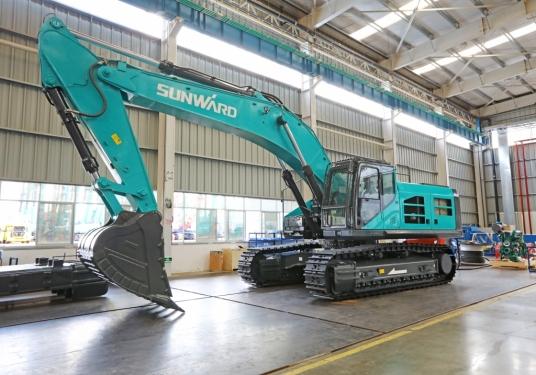 山河智能SWE 550F-ED纯电动挖掘机