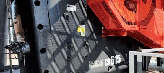 山特维克CJ815固定式颚式破碎机