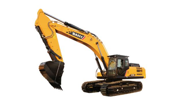 三一重工SY375H挖掘机高清图 - 外观