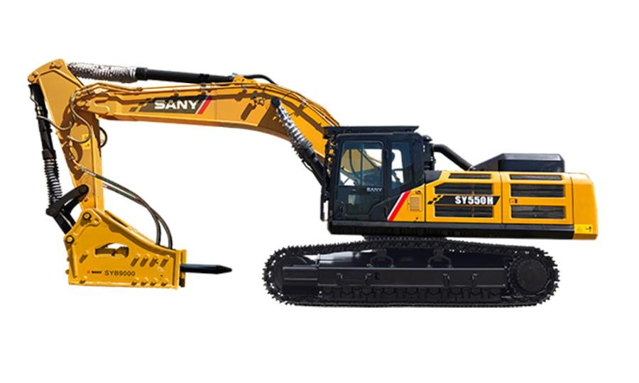 三一重工SY550H大型挖掘机