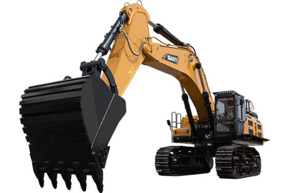 三一重工SY750H大型挖掘机