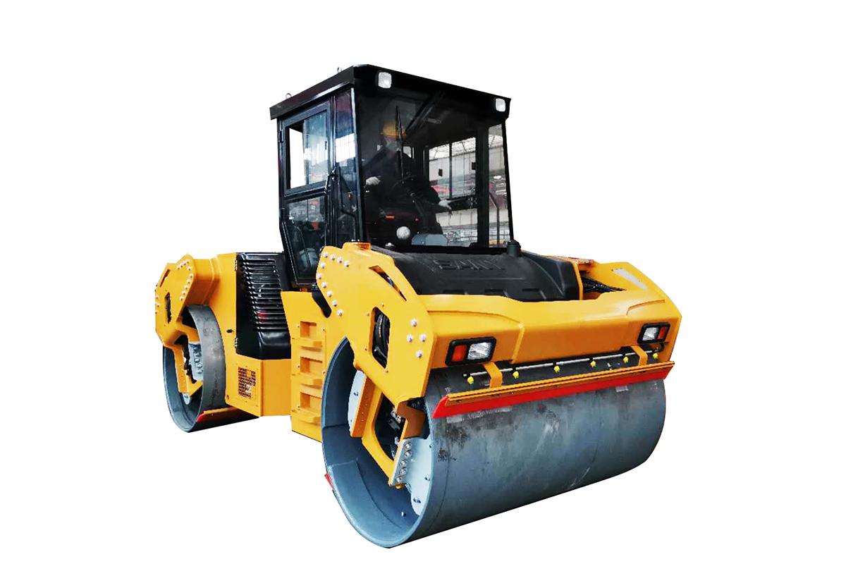 三一重工STR100C-8S双钢轮压路机(带驾驶室)高清图 - 外观