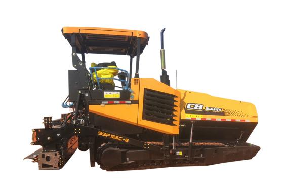 三一重工SSP125C-8稳定土摊铺机