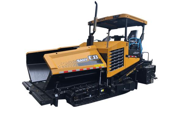 三一重工SAP90C-8沥青摊铺机