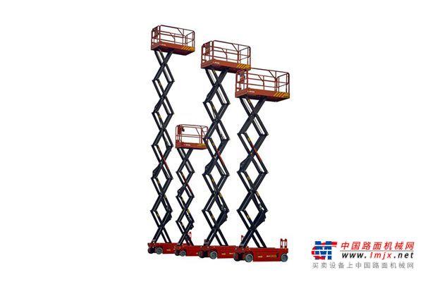 三一重工SGDJ1012高空作业车高清图 - 外观