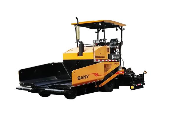 三一重工SAP45TC-8轮胎摊铺机高清图 - 外观
