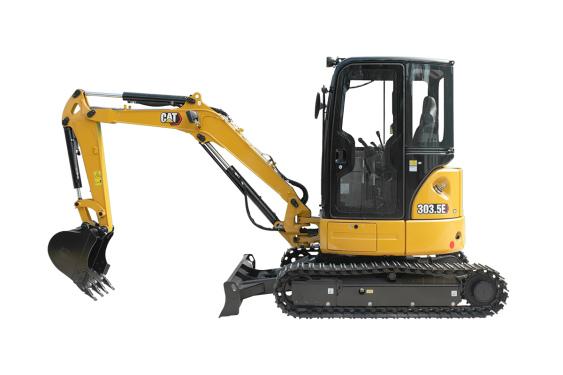 卡特彼勒Cat®303.5E迷你型挖掘机