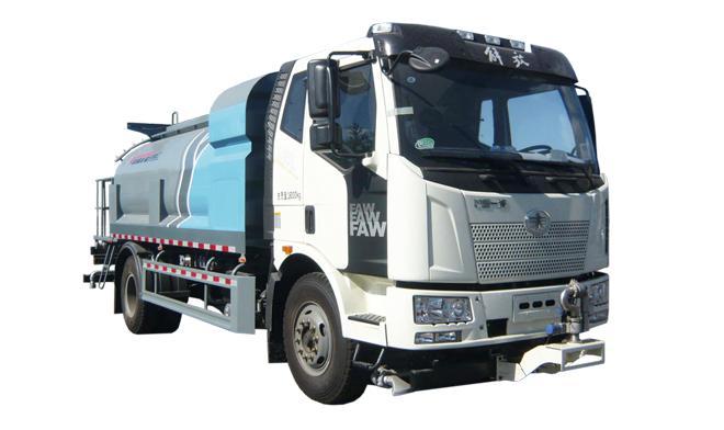 亚特重工TZ5180GQXCA6J6F清洗车高清图 - 外观