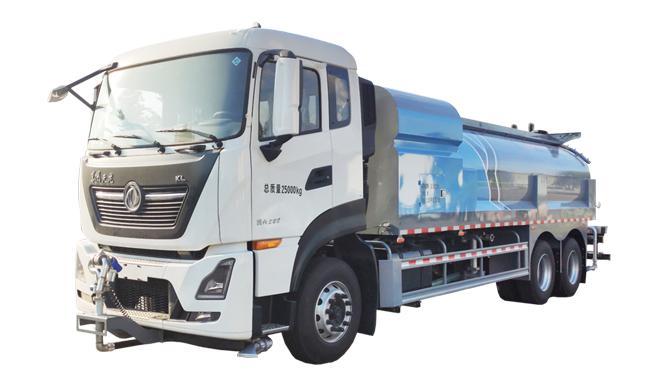 亚特重工TZ5250GQXDF6D清洗车高清图 - 外观