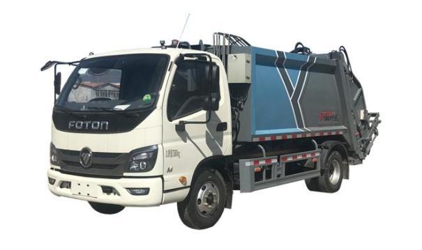 亚特重工TZ5073ZYSBJF压缩式垃圾车
