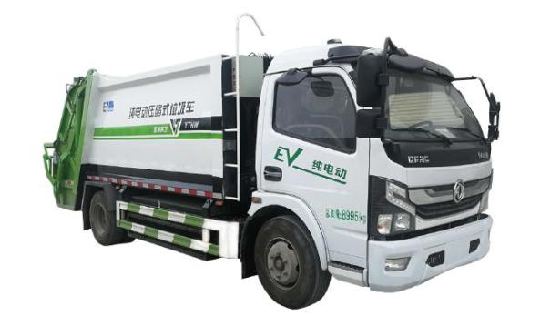 亚特重工TZ5090ZYSBEV纯电动压缩式垃圾车