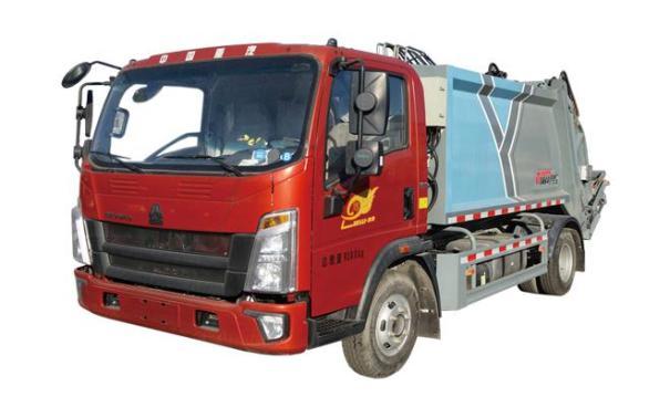 亚特重工TZ5097ZYSZZFZ垃圾车