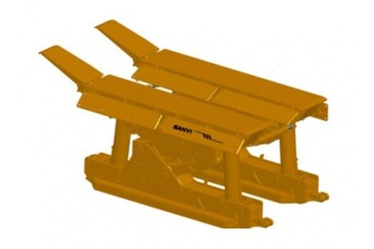 三一重工迈步式超前支护顺槽支架(ZC)高清图 - 外观