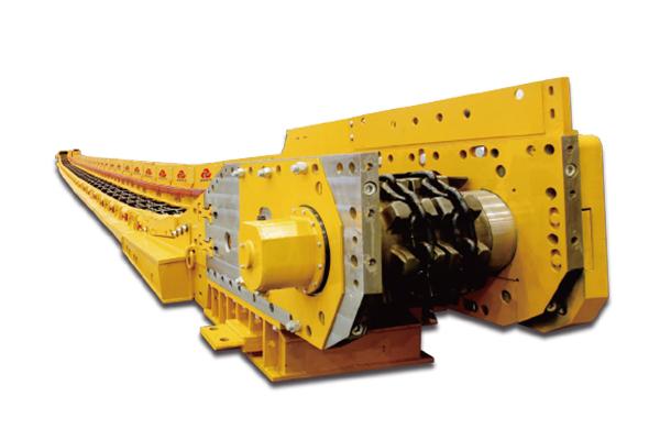 三一重工SGZ730刮板输送机高清图 - 外观