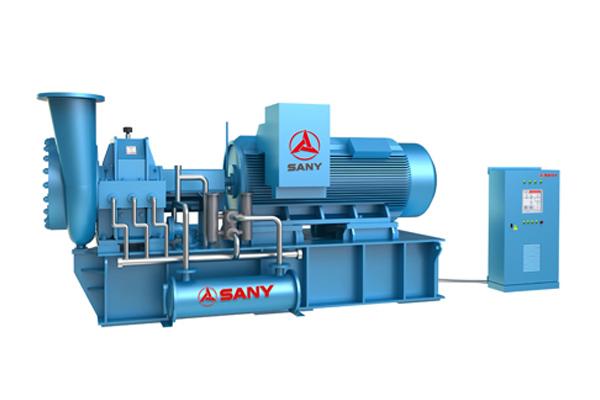 三一重工CSV10M85蒸汽压缩机高清图 - 外观