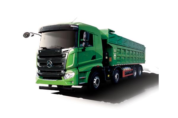 三一重工1号工程LNG轻量化版自卸车高清图 - 外观