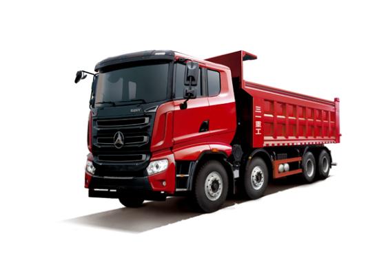 三一重工SYM3318ZZX1E1号工程柴油标载版 自卸车