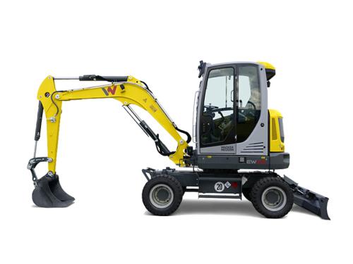 威克诺森EW65轮式挖掘机