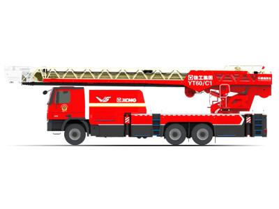 【720°全景展示】徐工YT60C1雲梯消防車