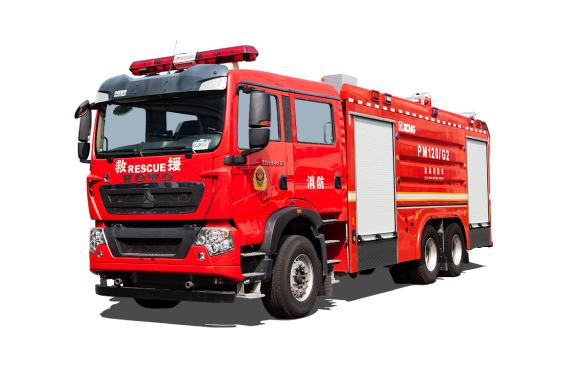 徐工PM120G2泡沫消防车