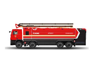 【720°全景展示】徐工JP20G1舉高噴射消防車