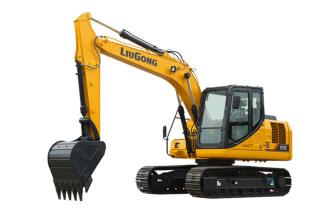 柳工CLG915E挖掘机高清图 - 外观