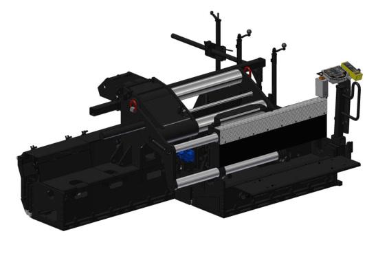 天顺长城DS2000全液压伸缩熨平装置高清图 - 外观