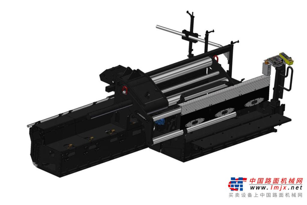 天顺长城DS750全液压伸缩熨平装置高清图 - 外观