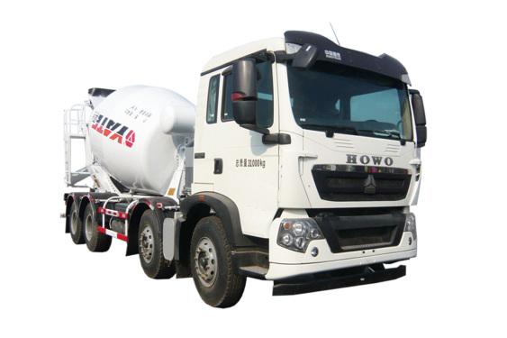 亚特重工TZ5317GJBZG8E2豪泺T5G  8*4混凝土搅拌运输车
