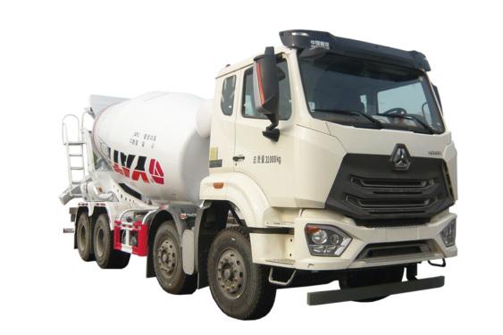 亚特重工TZ5315GJBZCEN5G豪瀚N5G/J5G  8*4混凝土搅拌运输车