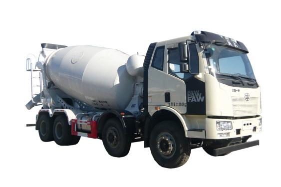 亚特重工TZ5310GJBCE8E1解放  8*4混凝土搅拌运输车