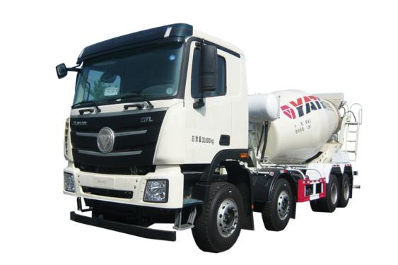 亚特重工TZ5319GJBBJCFL国六 LNG 欧曼 8*4混凝土搅拌运输车