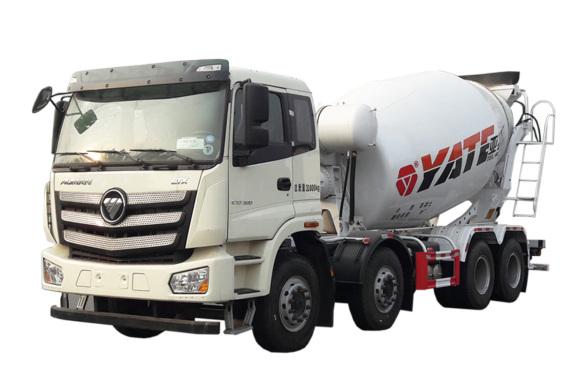 亚特重工TZ5313GJBBJAE欧曼 8*4混凝土搅拌运输车高清图 - 外观