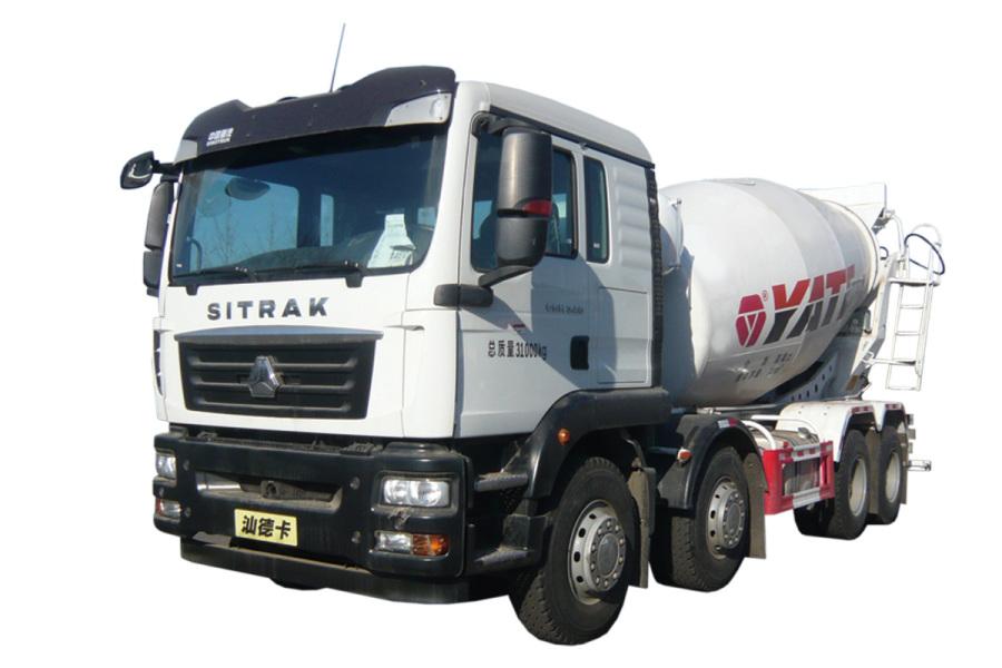 亚特重工TZ5316GJBZGCE1汕德卡 8*4混凝土搅拌运输车