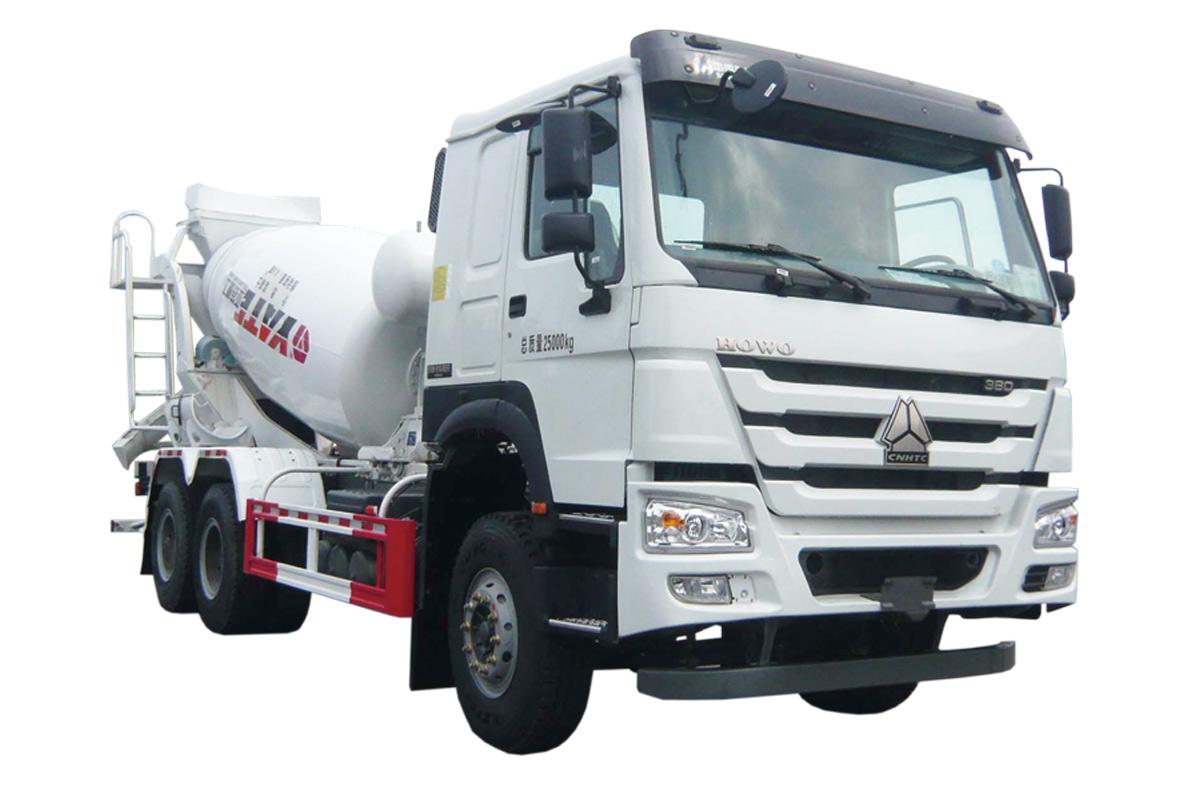 亚特重工TZ5257GJBZC4E1豪泺  6*4混凝土搅拌运输车高清图 - 外观