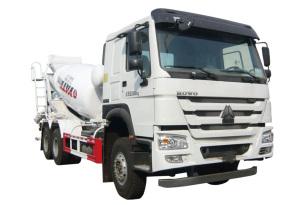 亚特重工TZ5257GJBZE3E1豪泺  6*4混凝土搅拌运输车
